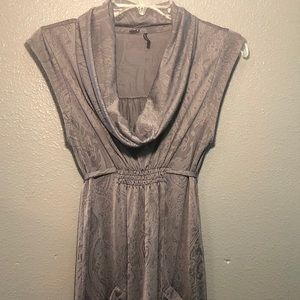 Guess Women's Dress Size S Gray Front Pockets
